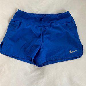 Nike Dri-Fit Running Shorts Blue S